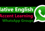 English accent WhatsApp Groups links for native accent and pronunciation learning. Best WhatsApp Groups links for English accent, Pronunciation, speaking, Vocabulary. Join WhatsApp groups links for learning English accents for native pronunciation development.