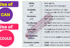 Use of CAN and Could in Urdu Examples PDF This basic English Grammar in Urdu lesson is about learning Use of Can and Could with Urdu translation and example sentences. English Grammar in Urdu examples, English speaking course in Urdu