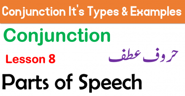 What is Conjunction Meaning in Urdu and its Examples Learn Complete Parts of Speech in Urdu and Hindi with PDF, Conjunction definition and Types of Conjunction with example sentences