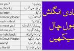 English Conversation Sentences with Urdu and Hindi Translation