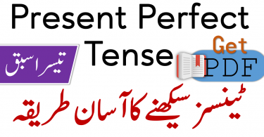 Present Perfect Tense in Urdu with Examples PDF