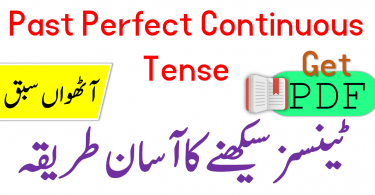 Past Perfect Continuous Tense in Urdu with Examples PDF, Tenses Book PDF in Urdu, 12 tenses in Urdu PDF, Tenses book Urdu PDF