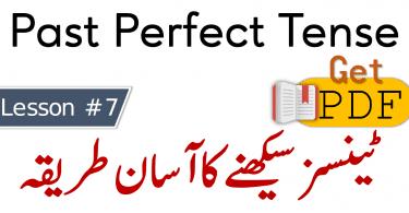 Past Perfect Tense in Urdu with Examples download PDF, Learn 12 tenses in Urdu, Tenses PDF Book in Urdu