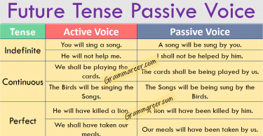 Future Tense Passive Voice with Examples and Urdu Explanation learn future indefinite passive voice, future continuous passive voice, future perfect passive voice in Urdu with examples.