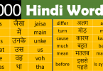 List of Daily Use English Words with Hindi Meaning PDF learn common English words used in daily life with Hindi meaning PDF for improving your English vocabulary to the next level.