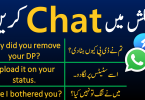 Chatting Sentences in Urdu and Hindi for Daily Use for speaking practice in urdu translation