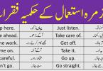 Imperative Sentences Examples with Urdu Translation